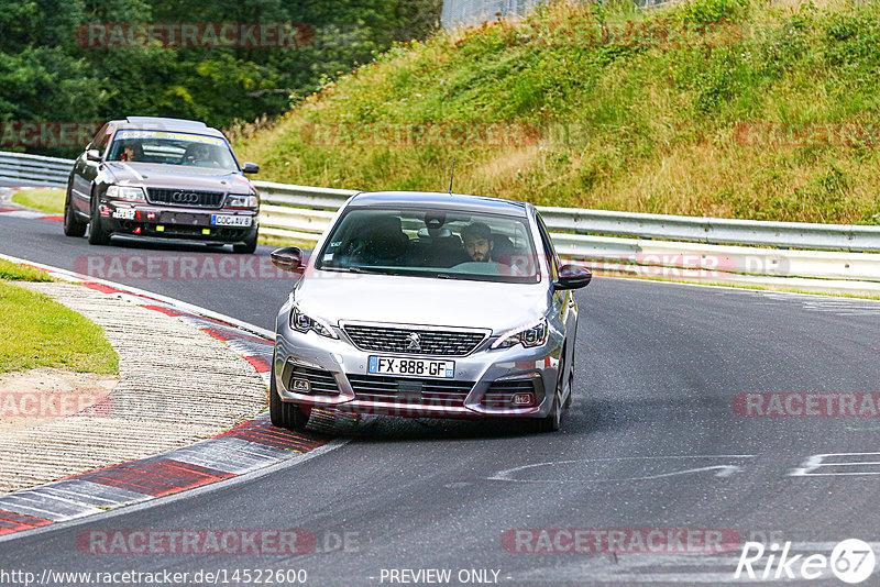 Touristenfahrten, Nürburgring, Fotos, Peugeot